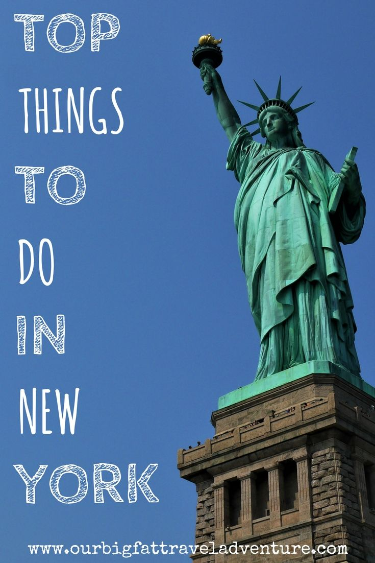 From taking a boat to Liberty and Ellis Islands and visiting the 9/11 museum to strolling around Central Park, here are our top things to do in New York.