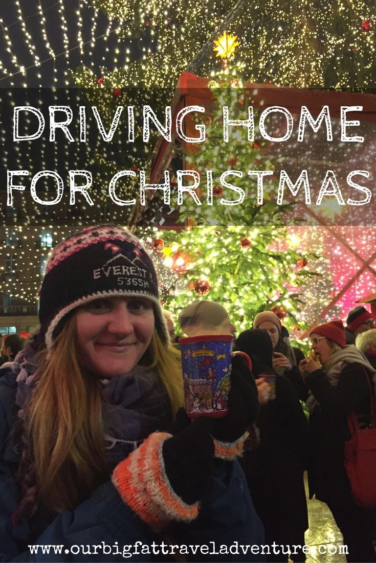 driving home for christmas Pinterest Pin