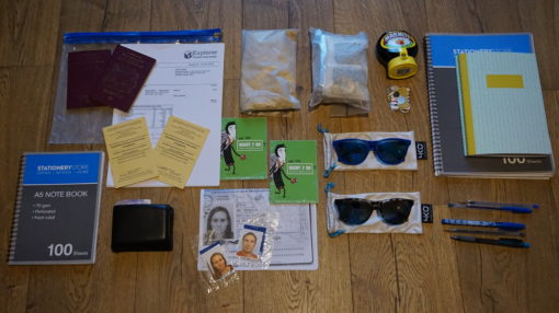 Miscellaneous items for our South America trip