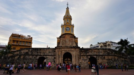 El Torre del Reloj - The Clock Tower, Cartagena, Colombia