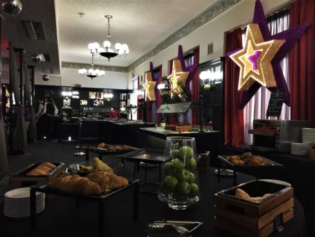 Breakfast Buffet at The Cumberland Hotel while visiting Bournemouth