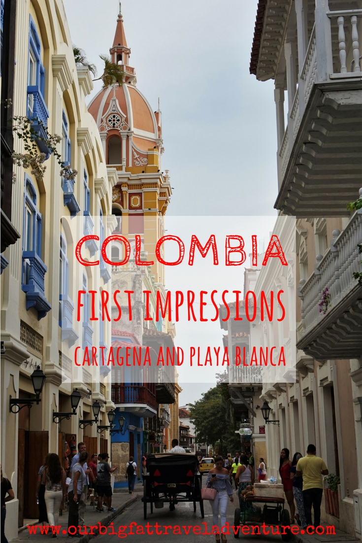 colombia first impressions