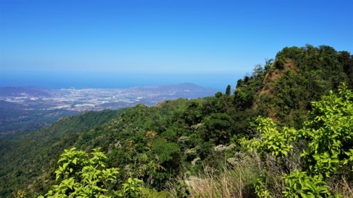 View of Santa Marta from a viewpoint in Minca - Mirador 360