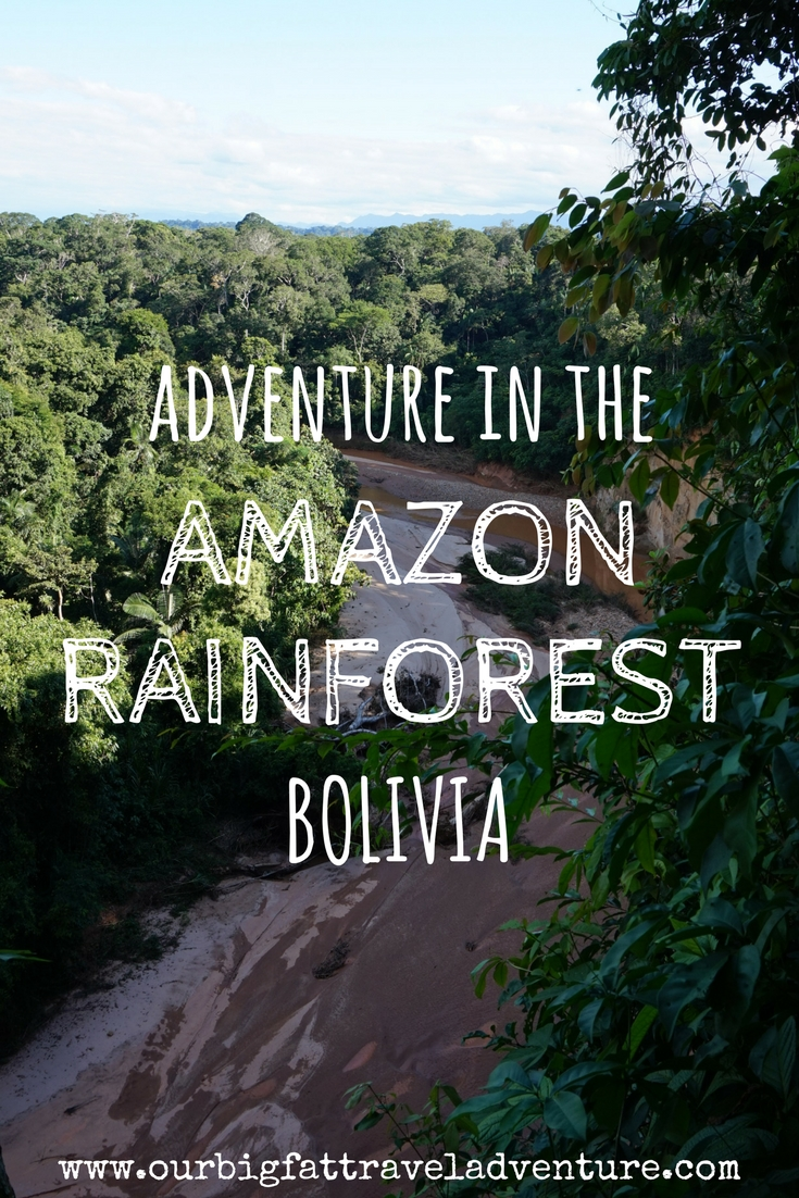 adventure in the amazon rainforest bolivia pinterest pin