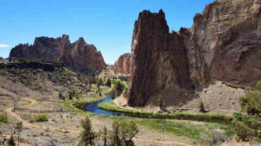 The stunning Smith Rock State Park, near Bend, OR