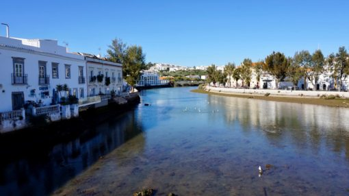 Tavira, Portugal, in the sunshine