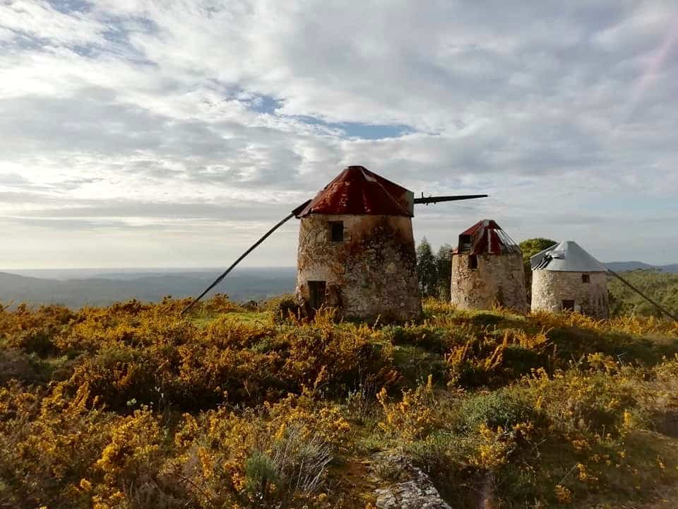 Windmills in Central Portugal