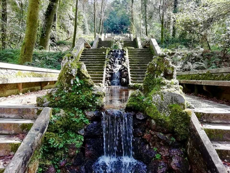 Fonte Fria at the Bussaco Forest in Portugal