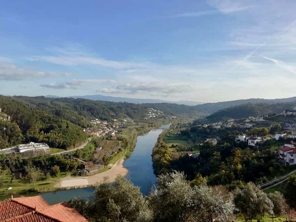 View from Penacova overlooking Central Portugal