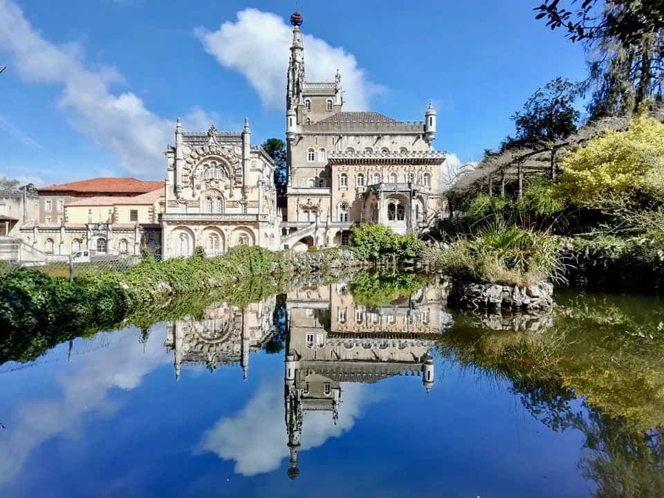 The Bussaco Palace, central Portugal