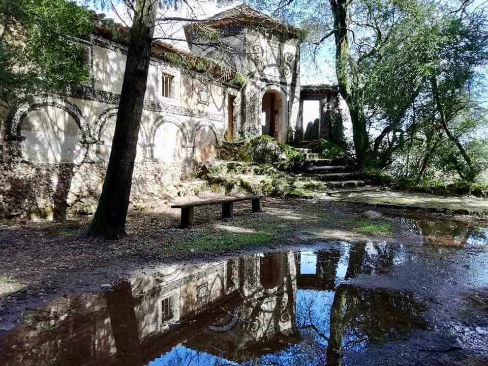 Old religious building in the Bussaco Forest, Central Portugal