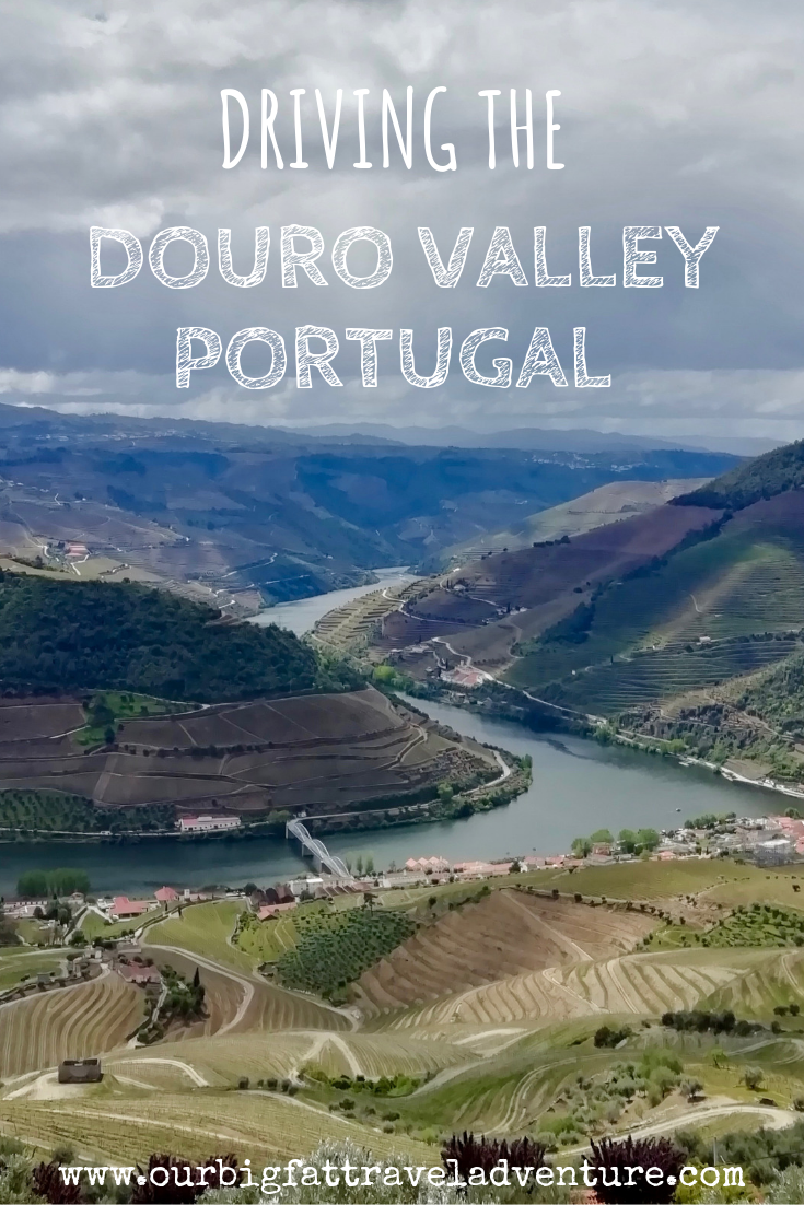 Driving the Douro Valley Portugal PIN