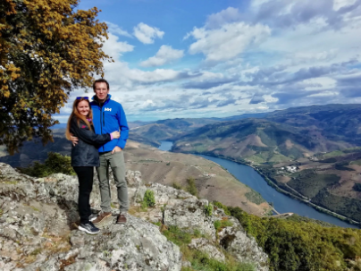 Us in the Douro Valley thumbnail