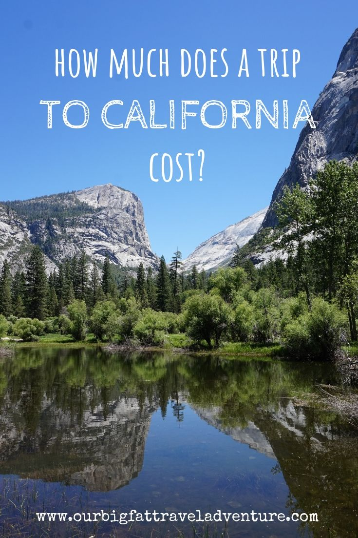 how much does a trip to california cost pinterest pin