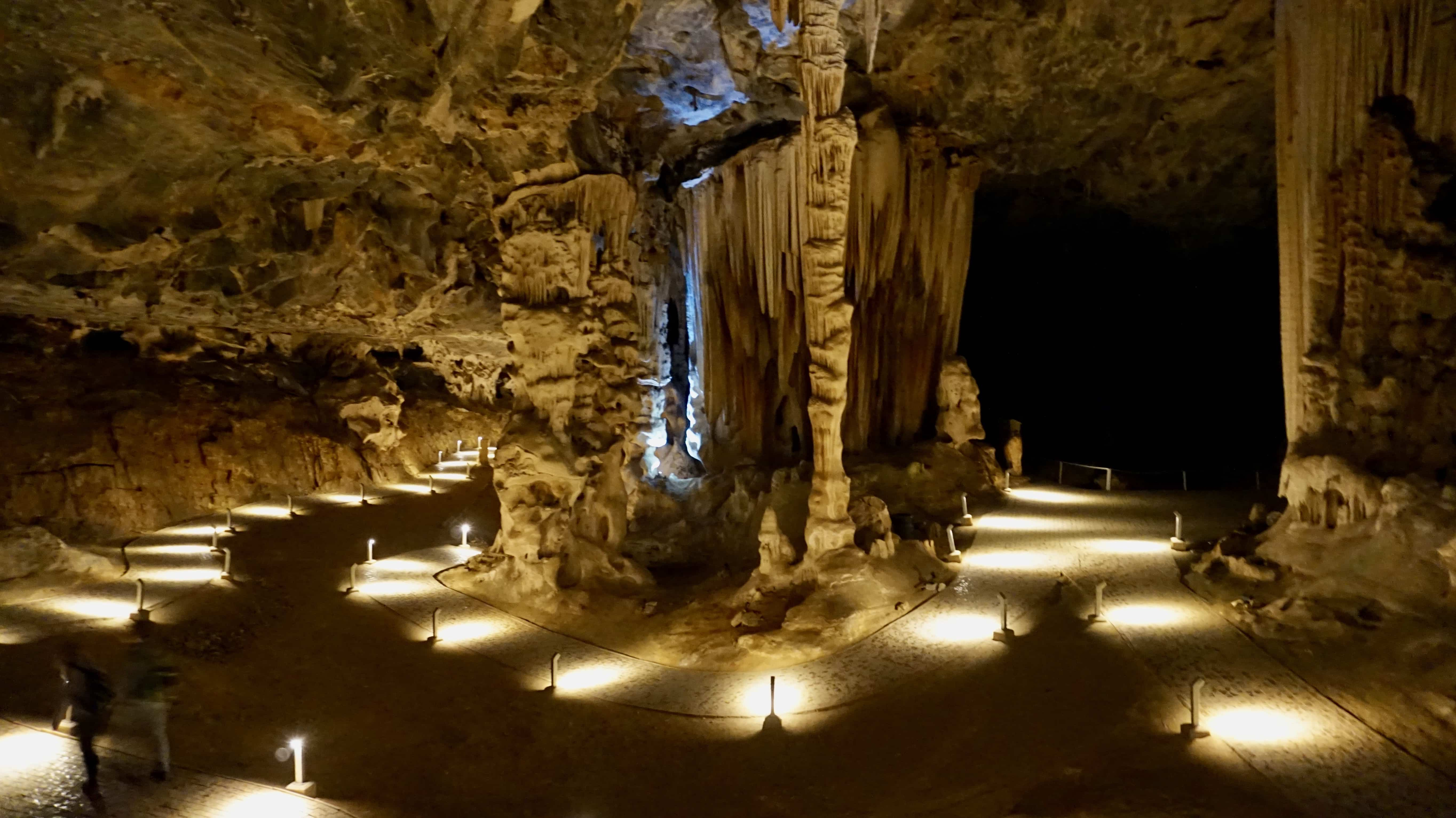 Inside the Cango Caves in Oudtshoorn, South Africa