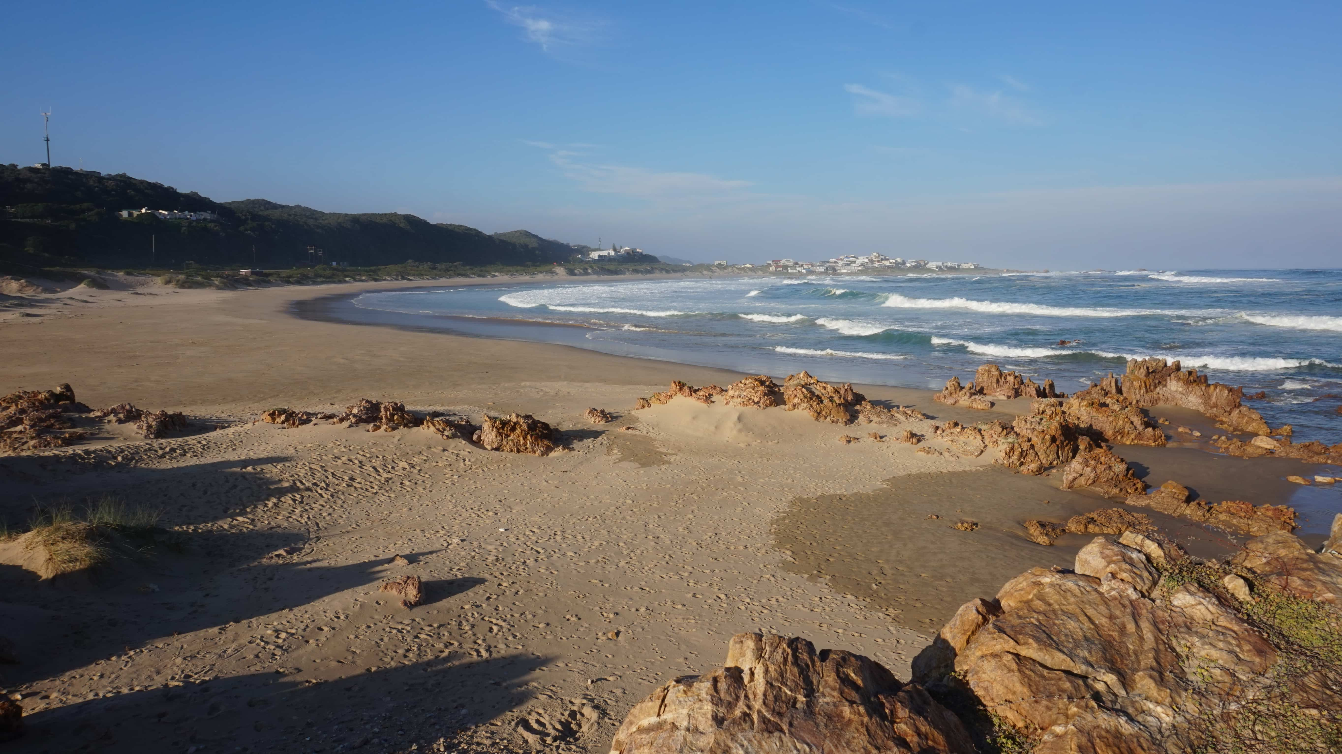 Beach in South Africa on the Garden Route