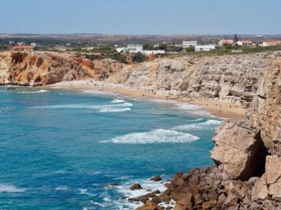 Beach in Western Algarve, Portugal - how to get your money back if your holiday is cancelled